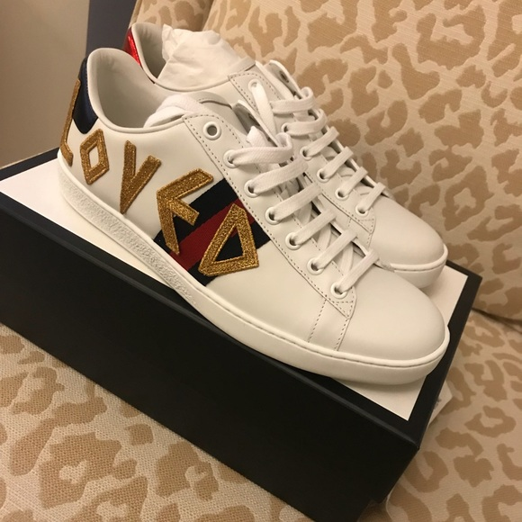 f24e181d629 Gucci New Ace Loved Sneakers